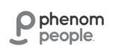 Phenom People grey Logo