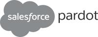 Salesforce Pardot grey logo